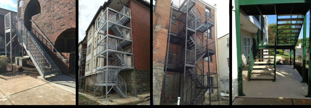 Commercial Steps and Railings