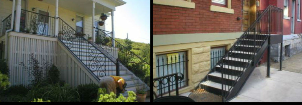Residential Steps and Railings