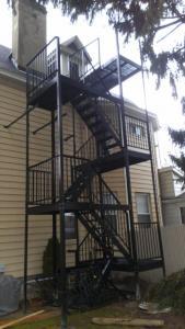 fire escape holy after2 fire escape