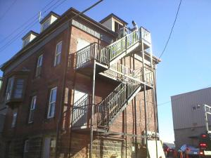 fire escape turning point after