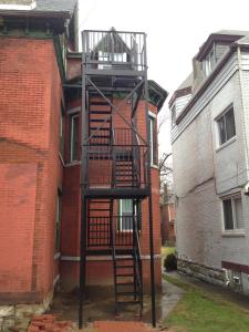 new fire escape rabi after
